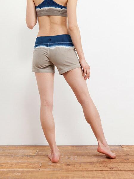 【Bali】草木染漸層短褲 3