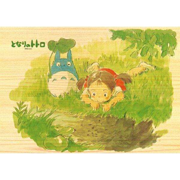 【進口拼圖】宮崎駿系列-龍貓 小河旁邊 208片 木製拼圖 208-W203