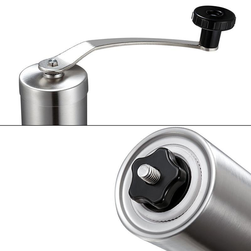 Stainless Steel Coffee Grinder with Adjustable Ceramic Conical Burr 2