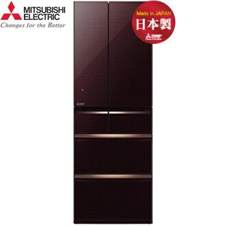 Mitsubishi 三菱 MR-WX53Y-BR-C 525L 6門 變頻電冰箱 日本原裝 (水晶棕)