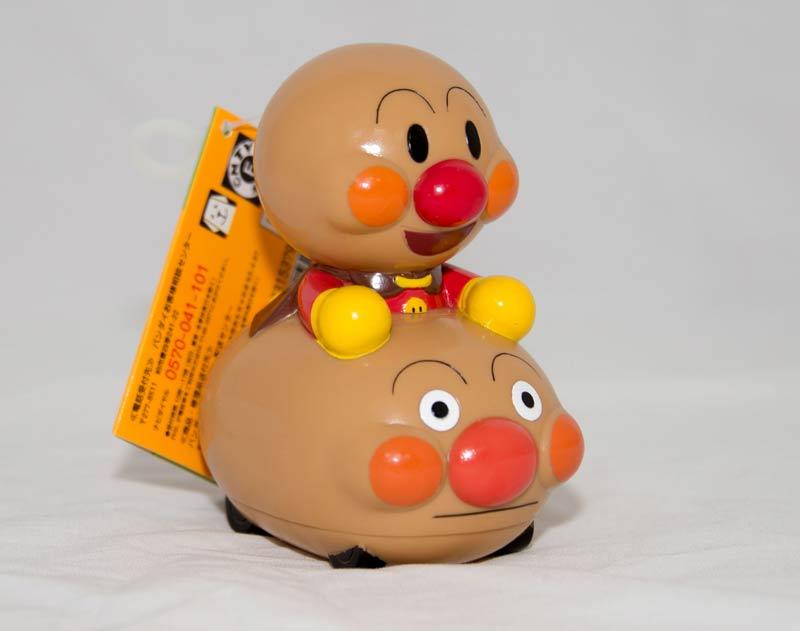 麵包超人 啾啾玩偶 日本帶回正版商品 1.5歲以上