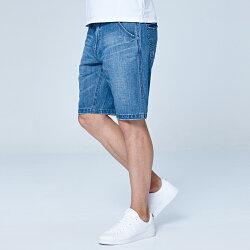Lee 牛仔短褲/RG-中藍色洗水
