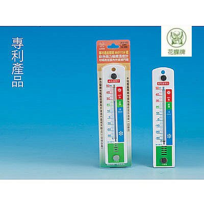 花蝶 進大 彩色強力磁鐵SK-850溫度計(單面式) / 支