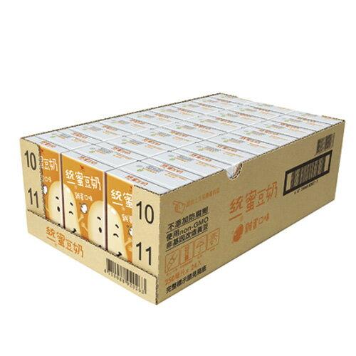 <br/><br/>  統一蜜豆奶-雞蛋250ml*24入/箱【愛買】<br/><br/>