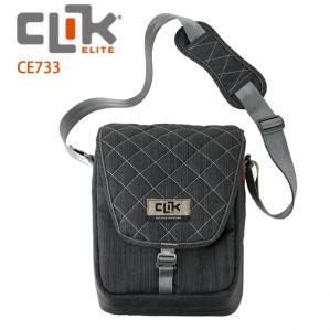 【CLIK ELITE】美國戶外攝影品牌 經典單肩攝影側背包SCHULTER CE733  灰色
