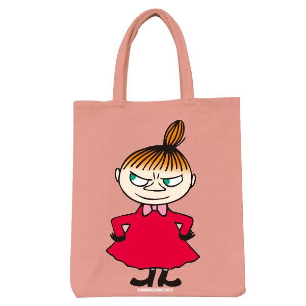 【嚕嚕米Moomin】彩色野餐包-LiitleMy(粉紅黃色)