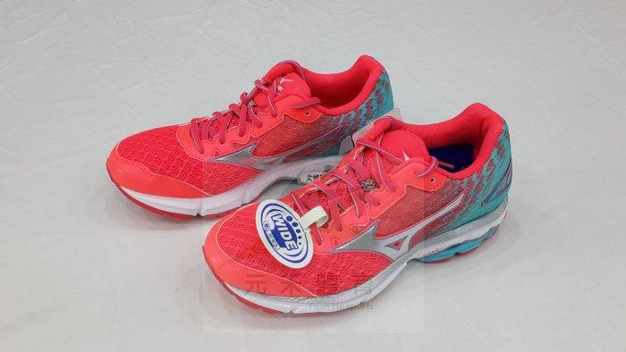 元禾〉MIZUNO女 慢跑鞋 WAVE RIDER19 (W)D 系列 J1GD160608