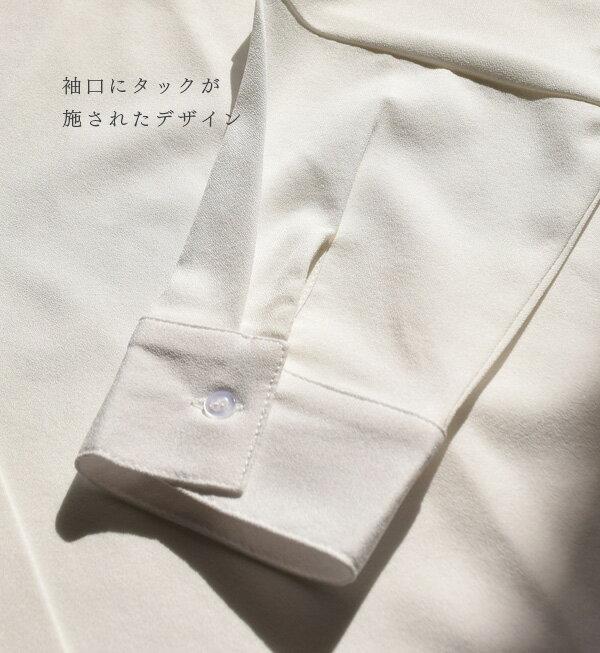 日本e-zakka / 簡約素色寬版V領上衣 / 32190-1900051 / 日本必買 代購 / 日本樂天直送(2900) 9