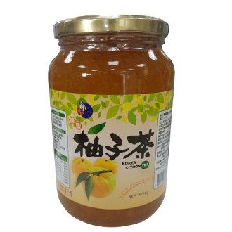韓客蜂蜜生柚子茶1kg【愛買】