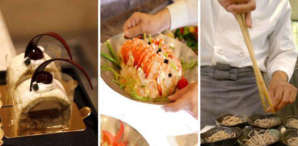 【愛票網】高雄麗尊酒店 艾可柏菲法式自助料理吃到飽平日午午茶餐券
