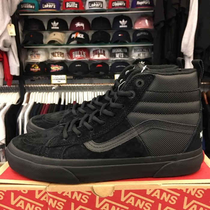 現貨 BEETLE VANS X THE NORTH FACE MTE DX SK8-HI 北臉 聯名 高筒 全黑
