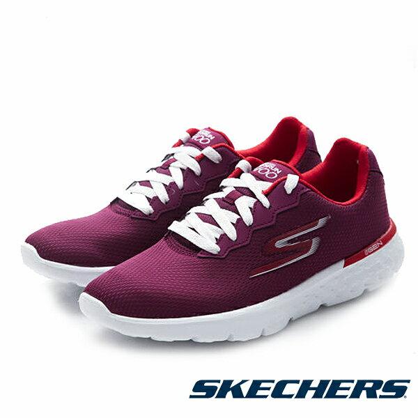 【SKECHERS 限定商品8折 │全店免運】SKECHERS 跑步系列 Go Run 400 女 紅 休閒鞋│運動鞋│健走鞋
