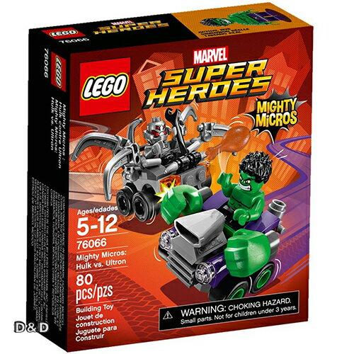 樂高積木 LEGO《 LT76066 》SUPER HEROES 超級英雄系列 - Mighty Micros: Hulk vs. Ultron