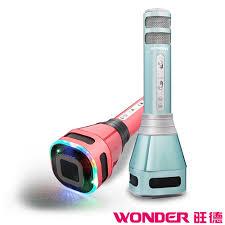 旺德 WONDER 藍牙KTV 無線K歌麥克風 WS-T167M ◆迴音效果可比擬KTV開唱, 讓你感受到渾厚的聽覺饗宴