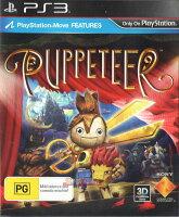 索尼推薦到PS3 木偶歷險記(剪刀王子)(相容Move與3D顯示) 英文版 Puppeteer