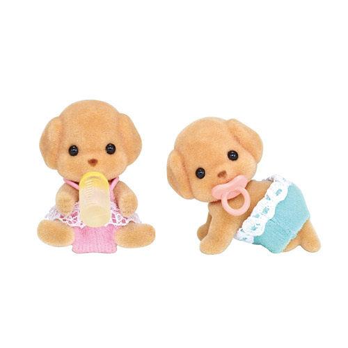 【 EPOCH 】森林家族 - 玩具貴賓狗雙胞胎