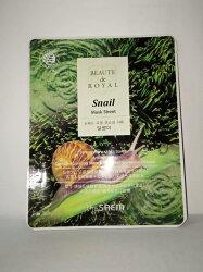 【特價優惠】【即期良品 2019.04】韓國the SAEM BEAUTE de ROYAL 蝸牛面膜-20ml BEAUTE de ROYAL Snail【辰湘國際】