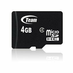 *╯新風尚潮流╭* TEAM十銓 4G 4GB Micro SD C4 TUSDH4GCL403