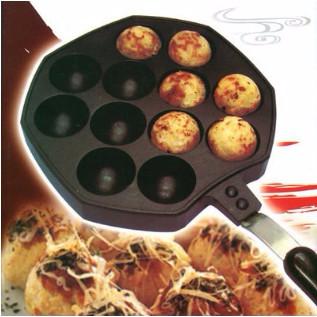 烘焙具匠 章魚燒烤盤 12孔章魚燒模具 章魚小丸子機 章魚燒機 不沾烤盤 露營 野餐 烤肉 燒烤 章魚丸爐