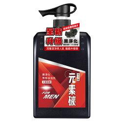 水平衡元素碳男性沐浴乳-檀香制菌800g【愛買】