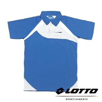 【巷子屋】義大利第一品牌-LOTTO樂得 男款多功能快排透氣POLO運動衫 [LT3BMT00661] 藍色 超值價$298