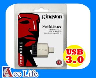 【九瑜科技】Kingston 金士頓 USB 3.0 雙槽 讀卡機 FCR-MLG4 Reader 支援 SD SDHC SDXC micro SD microSDHC FCR-MLG3 新版本