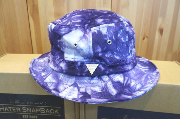 ►法西歐_桃園◄ 全新 HATer Bucket Hat 紮染 紫 平頂帽 漁夫帽