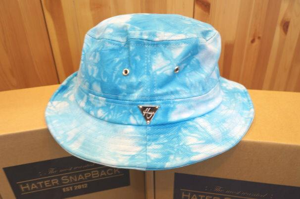 ►法西歐_桃園◄ 全新 HATer Bucket Hat 紮染 淺藍 平頂帽 漁夫帽