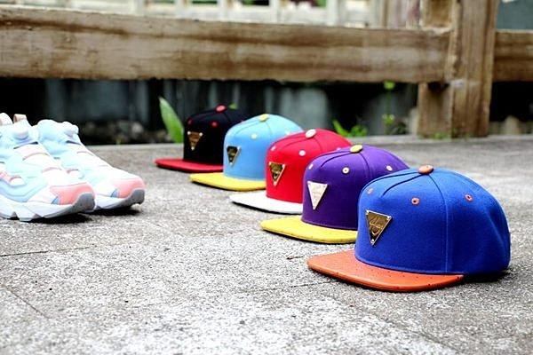 ►法西歐_桃園◄ 全新 HATer Snapback 美國城市系列排扣棒球帽 紅 藍 黑 橘 黃