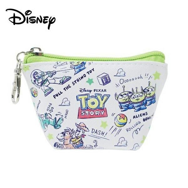 【日本正版】玩具總動員船型零錢包收納包小物收納皮克斯迪士尼Disney-078134
