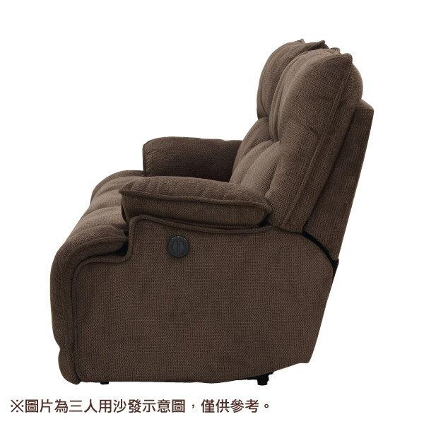 ◎布質2人用電動可躺式沙發 HIT 804 DBR NITORI宜得利家居 3