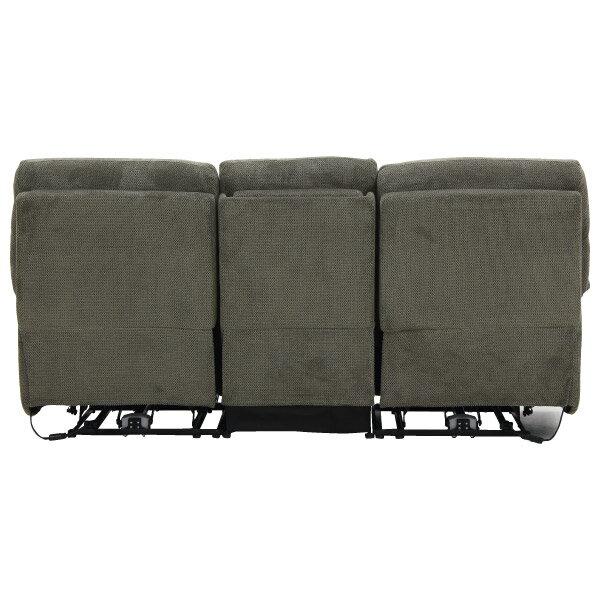 ◎布質3人用電動可躺式沙發 BELIEVER3 804 MGY NITORI宜得利家居 3
