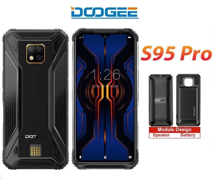 道格 doogee S95 Pro 三防手機 8+128GB 高配版 含音箱/電源擴充套件 IP68/69K 軍規