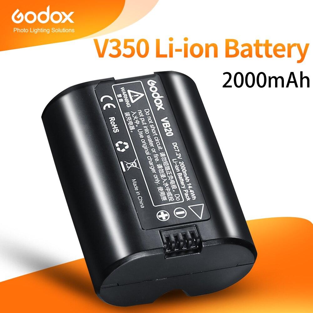 [享樂攝影]GODOX神牛 V350 專用鋰電池 VB20 7.2V/2000mAh ※開年公司貨