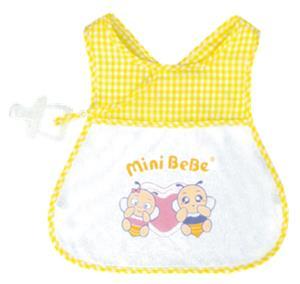 【蜜妮寶貝嬰童用品館】可調式交叉肩帶圍兜 / ONE SIZE / 黃色、藍色、粉紅