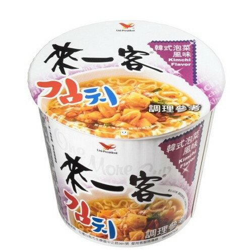 統一來一客杯麵韓式泡菜風味67g *3入【愛買】