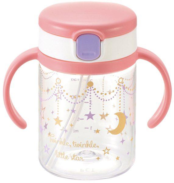 【淘氣寶寶】《日本 Richell 利其爾》第三代LC戶外吸管水杯200ml【星辰】