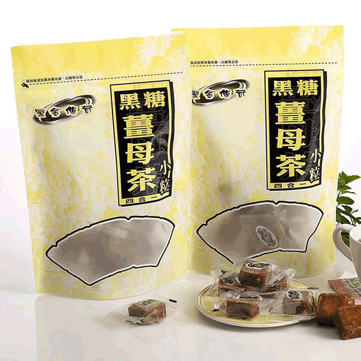 【黑金傳奇】四合一黑糖薑母茶(小顆,390g)
