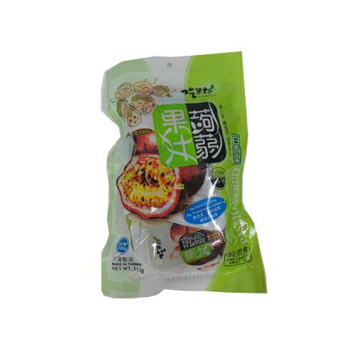 TW吃果籽百香果果汁蒟蒻312g【愛買】