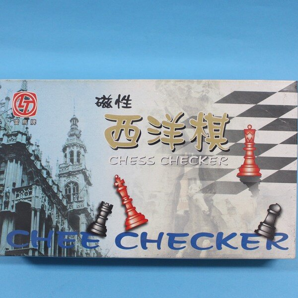 雷鳥磁石西洋棋 LT-303 大磁性西洋棋 MIT製/一盒入{定180}