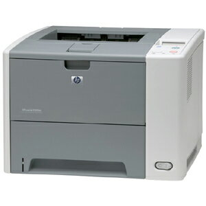 HP LaserJet P3000 P3005DN Laser Printer - Monochrome - 1200 x 1200 dpi Print - Plain Paper Print - Desktop - 35 ppm Mono Print - Letter, Legal, Executive, Custom Size - 600 sheets Standard Input Capacity - 100000 Duty Cycle - Automatic Duplex Print - Ethe 3