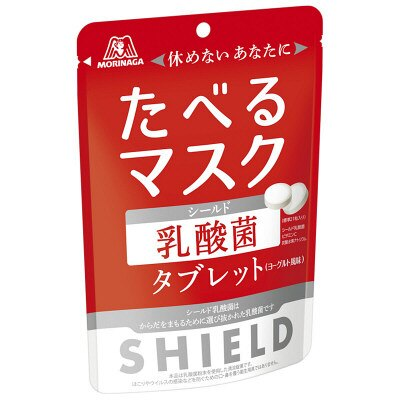 【日本代購】森永SHIELD養樂多風味乳酸菌糖果 33g