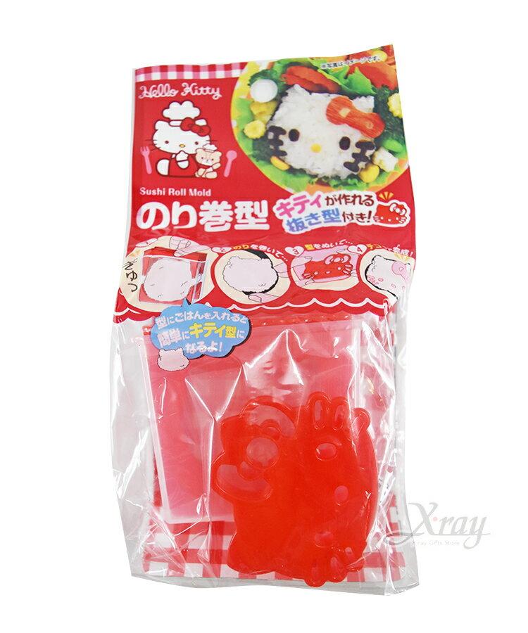 Hello Kitty 大臉飯糰壓模,廚房模具 / 做餐模具 / 野餐料理 / 日本雜貨 / 吐司模型 / 模具 / 便當,X射線【C576703】 0