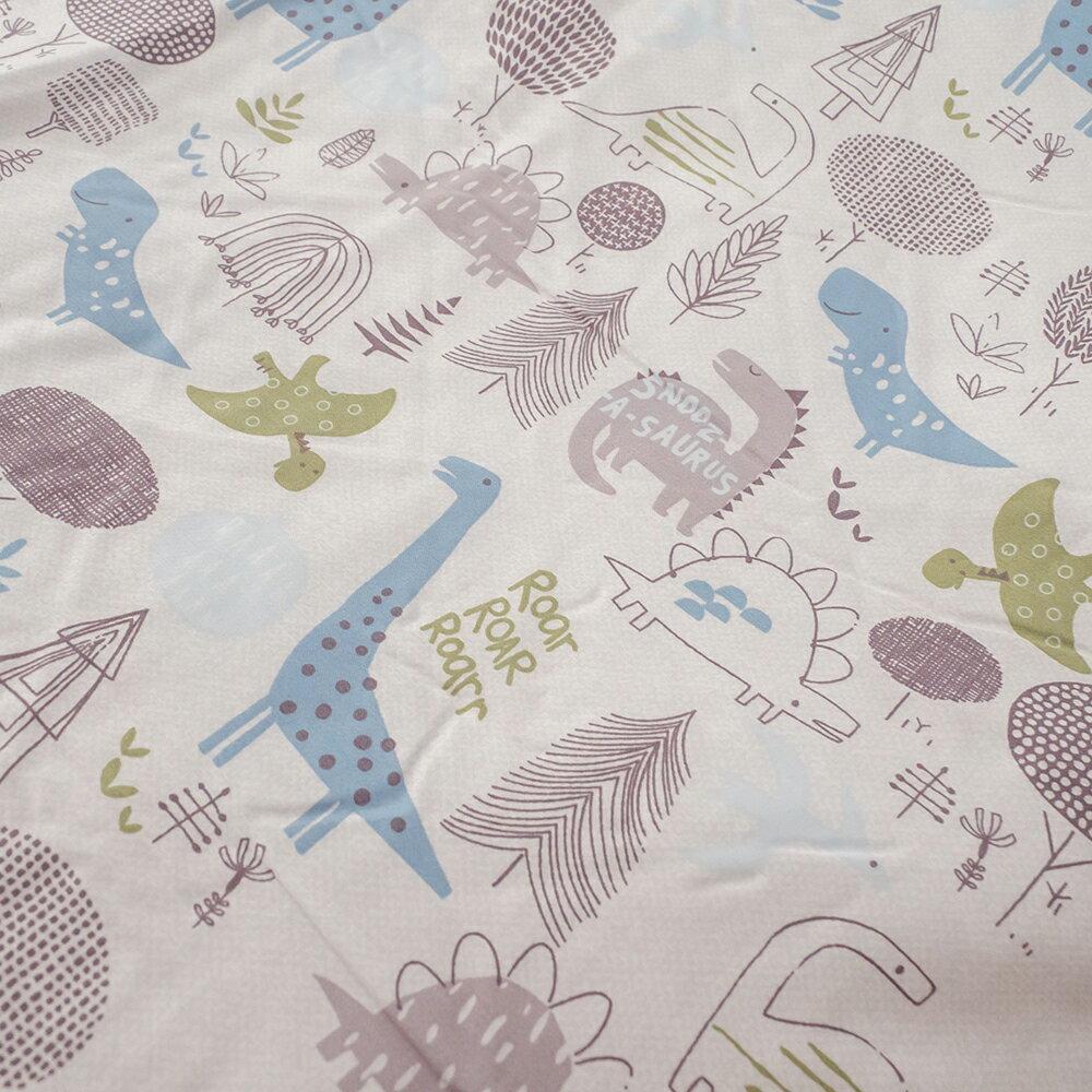 恐龍樂園 100%天絲床組 (40支) 床包 / 寢具 / 兩用被 棉床本舖 3