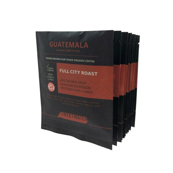 【SWEETWATER】瓜地馬拉有機咖啡--濾掛(耳掛)包 (一袋10入) - 限時優惠好康折扣