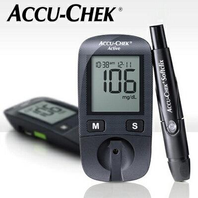 羅氏活力6代血糖機(Active 6)單機組-單機組+尿糖尿蛋白試紙50片