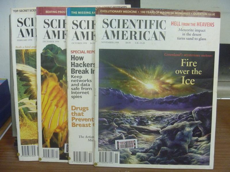 ~書寶 書T7/雜誌期刊_PGQ~Scientific American_1998  2~