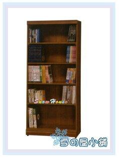 ╭☆雪之屋居家生活館☆╯AA552-10C-063x6柚木開放書櫃展示櫃收納櫃置物櫃