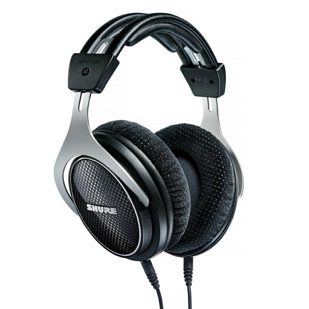 志達電子 SRH1540 美國 SHURE 耳罩式 可換線式 監聽耳機 (富銘公司貨) 門市開放試聽!