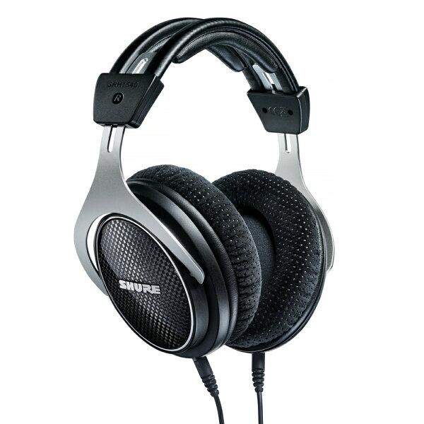 志達電子SRH1540美國SHURE耳罩式可換線式監聽耳機(富銘公司貨)門市開放試聽!